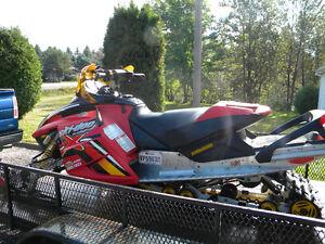BOMBARDIER MXZ  RENAGADE X 2005 600 ho sdi