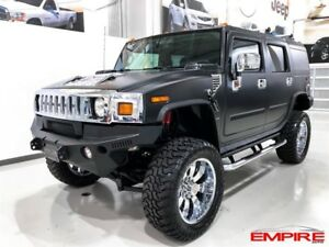 Hummer H2 SUV MATTE WRAP LIFT KIT 2006