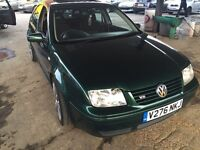 VW Bora, V5 petrol, 2 owners good condition,12months MOT @ £999
