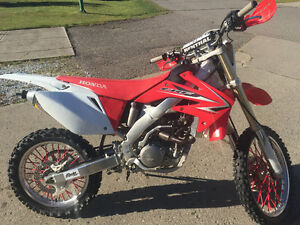2009 Honda CRF 250 X in excellent condition.