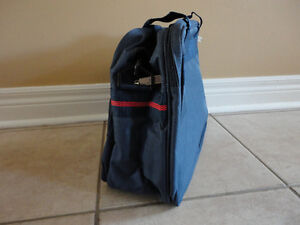 Brand new with tags Trafalgar navy blue cabin travel bag London Ontario image 5