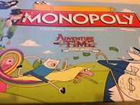 Adventure Time Monopoly + Poster