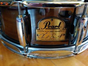 Snare drum, Pearl,  Chad Smith signature + 5 new Reno skins