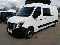 Nissan NV400 SE 2.3DCi 125ps 9 Seat Welfare Crew Van