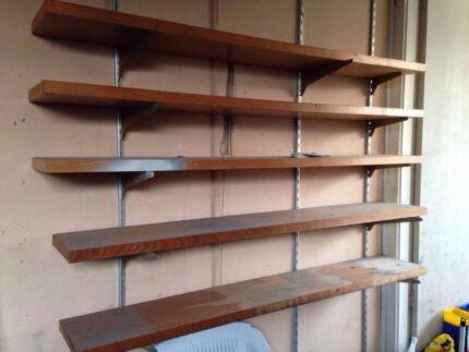 5 garage shelves shelving shelf  Bass Hill Bankstown Area Preview
