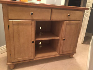 Hutch display cabinet or TV stand solid wood