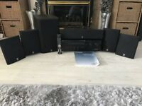 Yamaha Dolby Digital & DTS Home Cinema Amp & Speakers