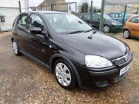 Vauxhall Corsa 1.2I 16V SXI+ (black) 2005