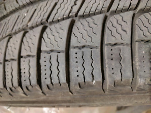 MICHELIN X-ICE 215/55R17 winter Tires  -  New-Great Deal