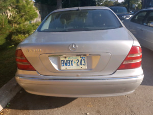 Mercedes Benz S430 for sale as it is