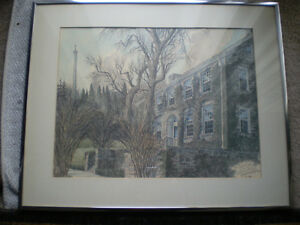 "Ben Babelowsky-""MacKenzie House"" Print Kitchener / Waterloo Kitchener Area image 1"