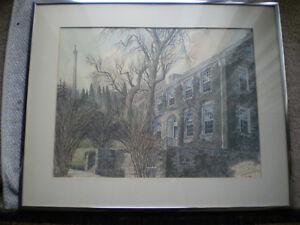 "Ben Babelowsky-""MacKenzie House"" Print"
