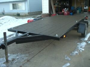 HEAVY DUTY 6 FT X 12 FT FLATBED TRAILER