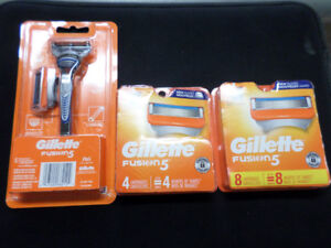 KSQ buy&sell Gillette fusion replacement razor blades