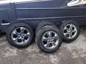 17 inch jeep rims and tires