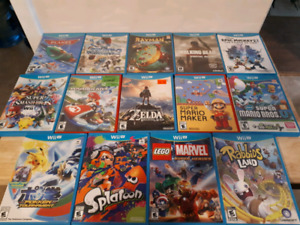 Nintendo Wii U And Nintendo Wii Games!