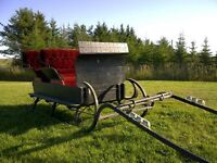 Reduced - 4 seater horse cutter (awesome condition)