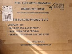 Airtight loft hatch 560x640mm
