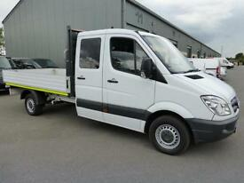 2012 Mercedes-Benz Sprinter 313 CDi LWB Double cab 7 seat Dropside Crew, FMBSH
