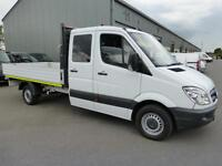 2012 Mercedes-Benz Sprinter 313 CDi LWB Double cab 7 seat Dropside Crew, FMBSH