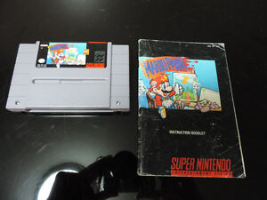 Mario paint Super nintendo with manual