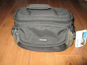 Sac noir pour camera ou video/Camera carrying case