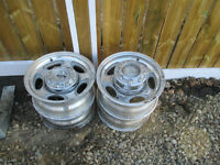18 inch  Superduty Aluminum rims with centercaps