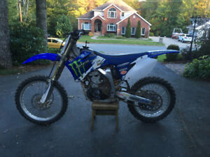 2008 Yamaha YZ250F Very Good Condition Dirt Bike