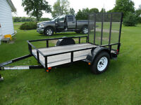 New - Never used 5 x 8 Kargo Max Lanscape Trailer 3500 lbs axle