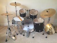 Drum Kit (brand new) Pearl Vision VBL + Zildjian S390 cymbals