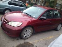Honda Civic Manual 2005 for Trade