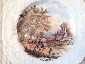 Assietes Décorative -Four Season Collector Plates/ Vintage Item West Island Greater Montréal image 4