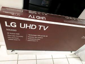"LG 50"" HDTV - BRAND NEW IN BOX"