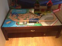 Play table for train set