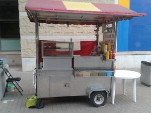 Hot Dog cart for sale - excellent condition