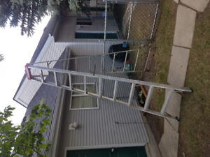 Barely Used 10ft Aluminum Step Ladder $90 O.B.O