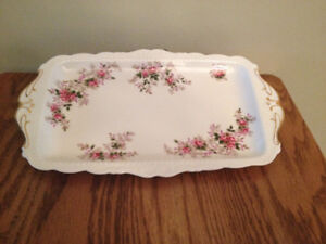 ROYAL ALBERT LAVENDER ROSE SANDWICH and/or  DAINTY TRAY