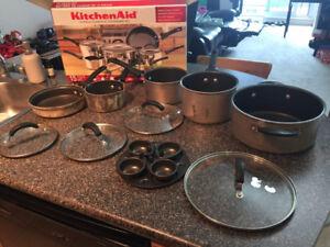 KitchenAid Nonstick Cookware Set (13 pieces)