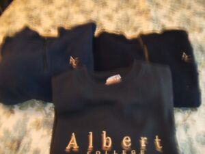 3 YOUTH ALBERT COLLEGE PULLOVERS