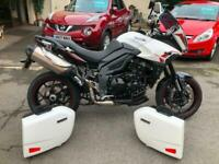 Triumph Tiger sport 1050 abs,with side boxes,fsh,heated grips,stunning bike.....