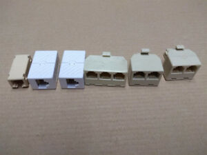 Telephone cord splitters / joiners