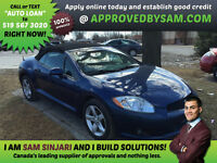 Eclipse Convertible - Easy Financing with Zero Down Options.