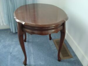 QUALITY, SOLID WOOD SIDE TABLES