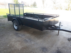 5 1/2 ×10 ft utility trailer for sale