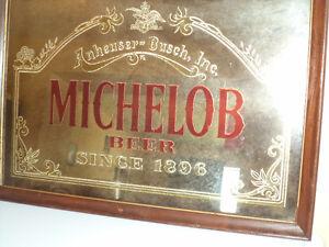 Anheuser-Busch Michelob mirror - $100