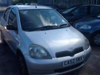 Toyota Yaris 1.0 VVTi FULL SERVICE HISTORY,5 DOOR,ECONOMICAL