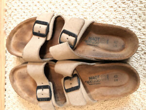 Women's suede sandals for sale