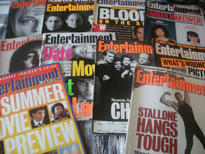 Entertainment Weekly Magazines 1993