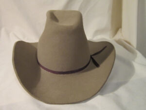 75543f574a1 Stetson Cowboy Hat - Gently Used Condition - Size 7