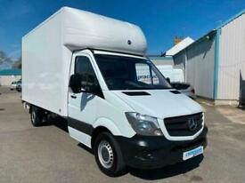 2017 Mercedes-Benz Sprinter 3.5t Luton Van With Tail Lift 314 cdi CHASSIS CAB Di
